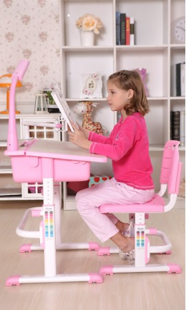 Maxi Pink Desk for Girls