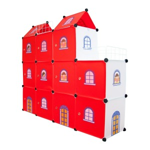 Castle Cubes - 11 Red Castle for Both Boys and Girls