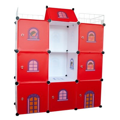 Castle Cubes - 9 Red Castle for Both Boys and Girls