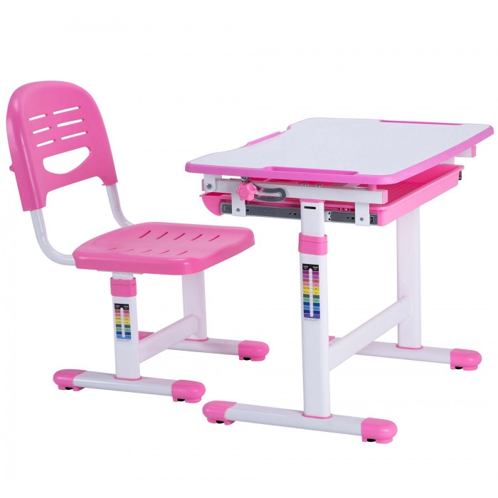 Mini Pink Desk for Girls : Height Adjustable Kids Table Ergonomic Kids Study Desk Chair Pink Desk for Girls 00 700x700 <strong>Proper</strong> Posture Desk Chair from www.bestdeskshop.co.uk size 700 x 700 jpeg 47kB
